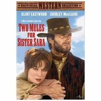 """Two Mules for Sister Sara"" Western Movie starring Clint Eastwood on DVD"