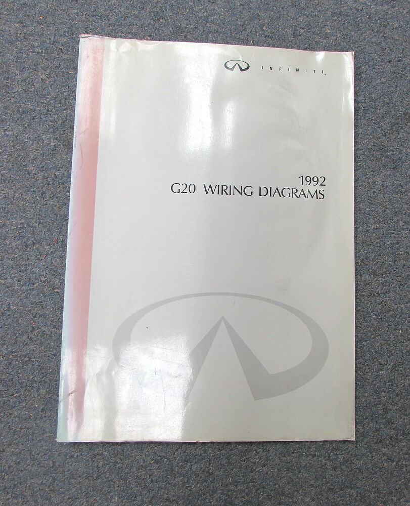 1992 Infiniti G20 Wiring Diagram Service Manual