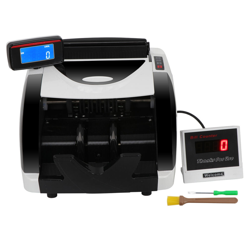 New Money Bill Counter Counting Machine Counterfeit