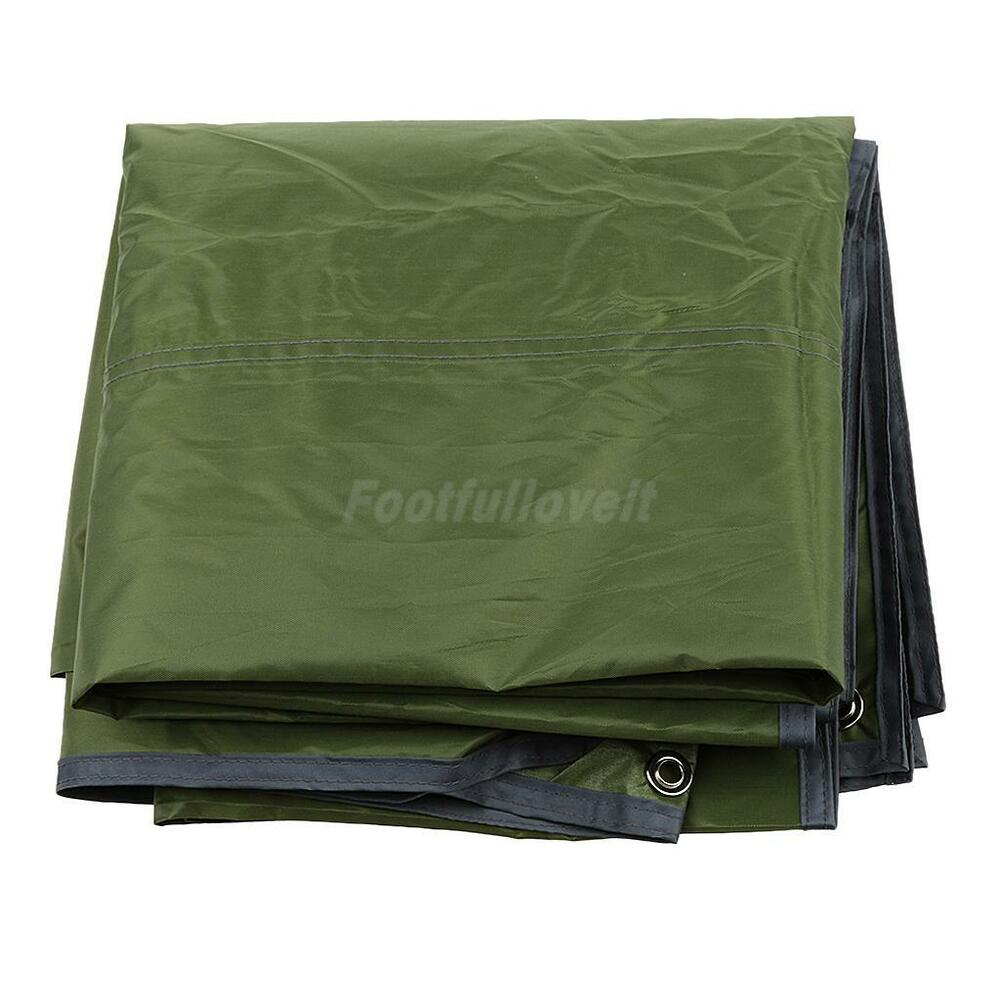Outdoor 3 4person Camping Picnic Tent Tarp Pad Shelter