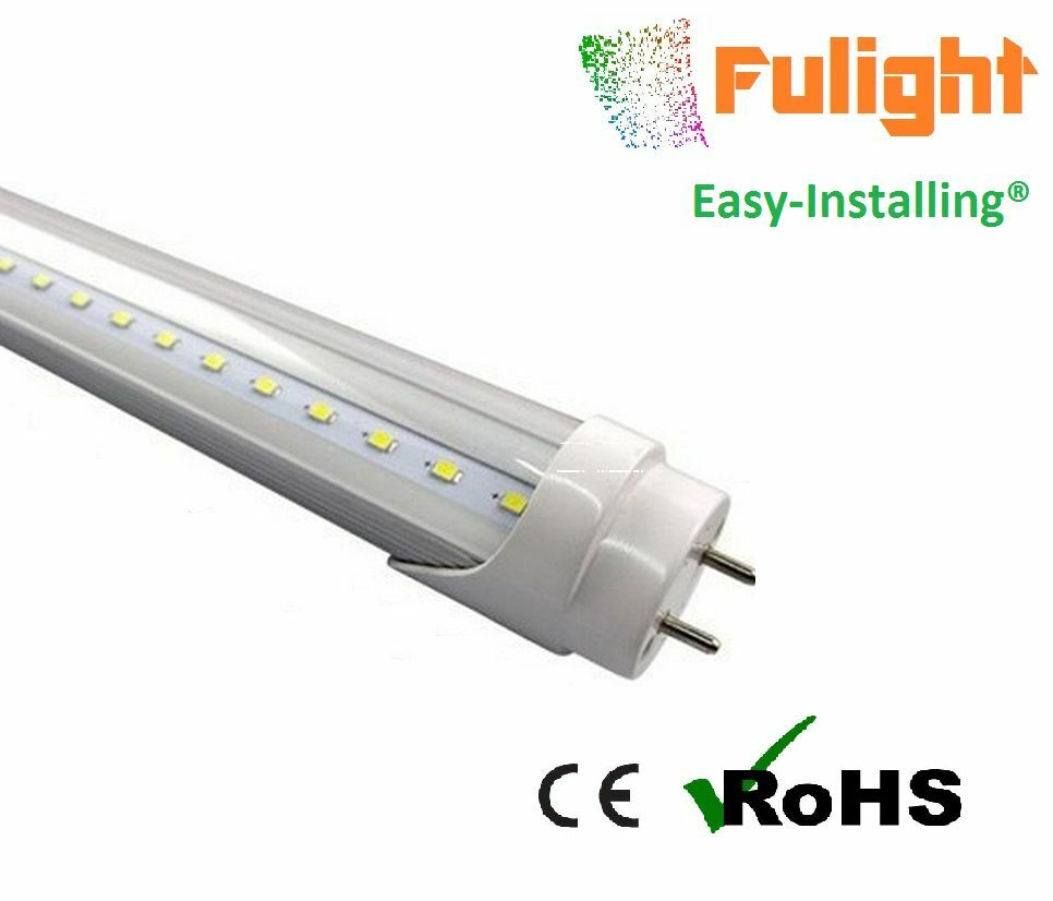 Led Tube Light Clear Cover T8 2 Foot Feet 2ft 24 Quot Inches