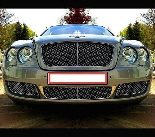 Bentley Continental Flying Spur 4D Front Lower Mesh Bumper