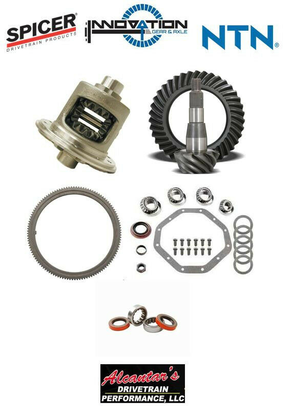 Complete Differential Rebuild Package Oem Quality Parts