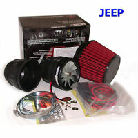 Intake Supercharger Kit Turbo Chip Performance for Jeep