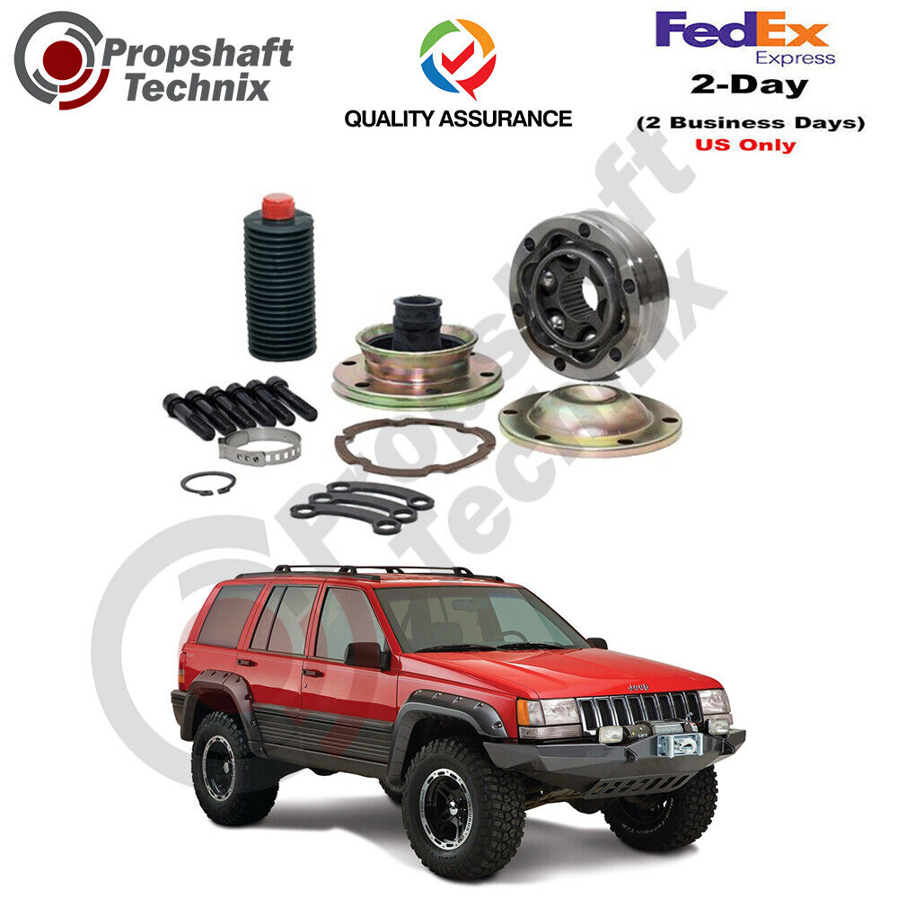 jeep grand cherokee zj front driveshaft cv joint kit