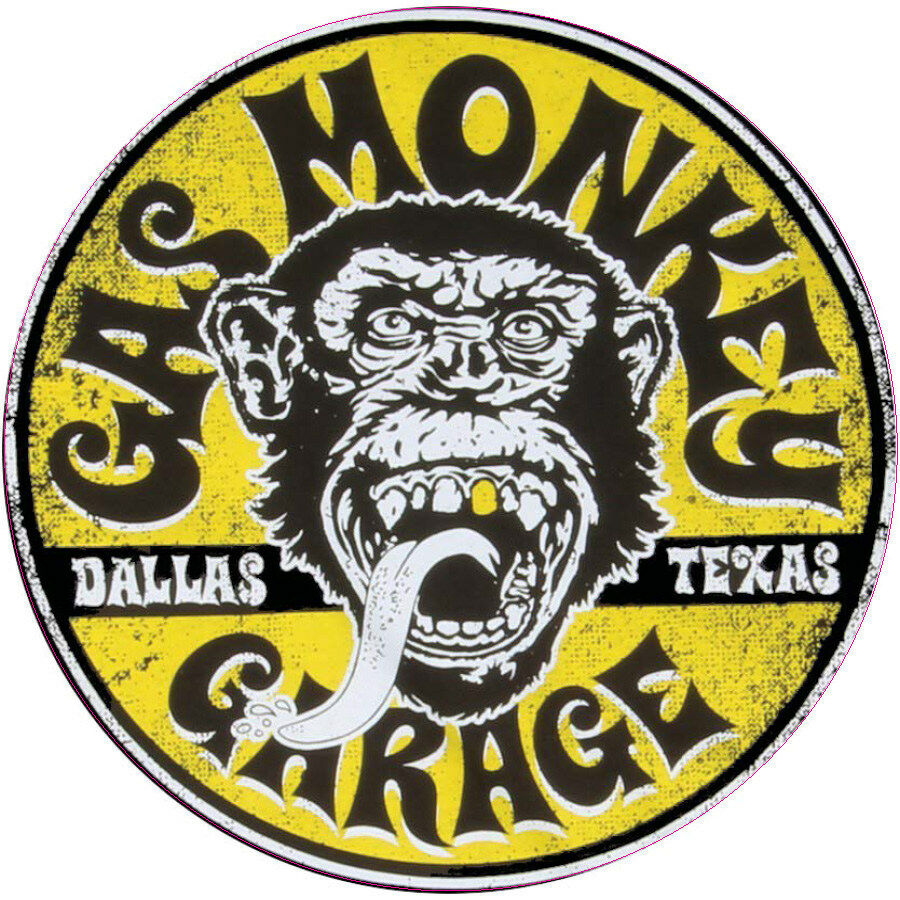 Gas Monkey Garage Car Decal