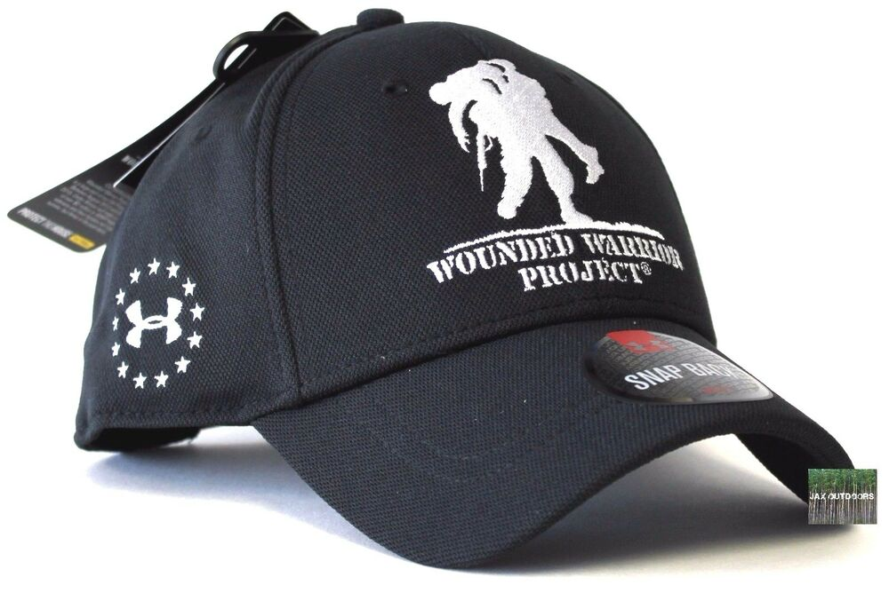 wounded warrior project hats Shop under armour ua wounded warrior project snapback cap and other name brand ball caps & hats apparel at the exchange you've earned the right to shop tax free and enjoy free shipping.