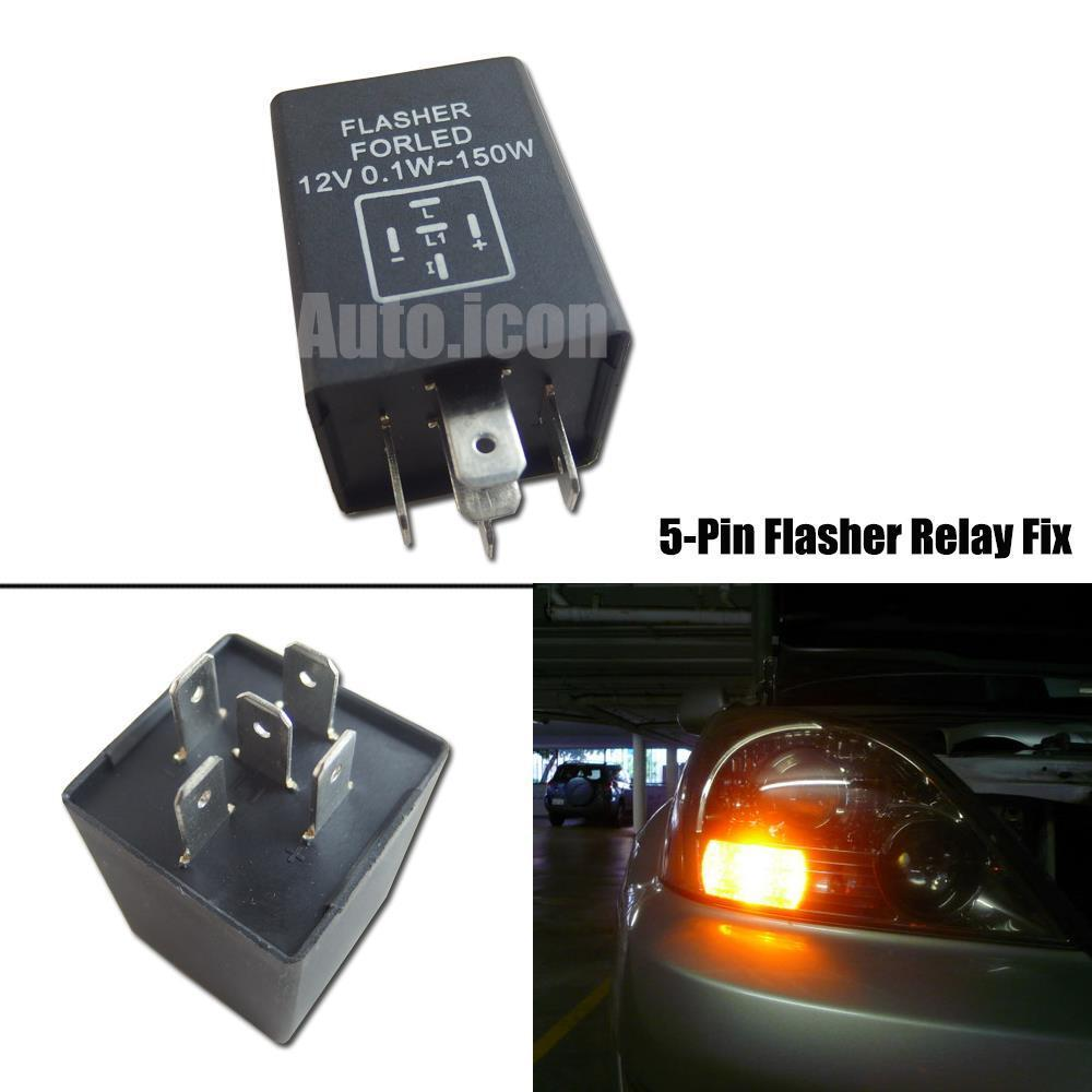 5 pin ep27 fl27 led flasher relay fix for car led turn. Black Bedroom Furniture Sets. Home Design Ideas