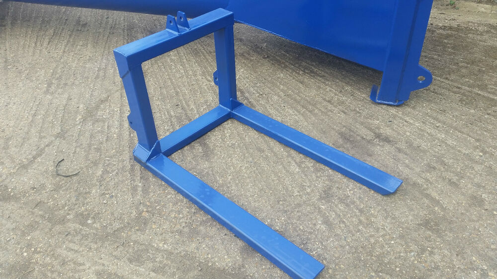 3 Point Forks : Three point linkage pallet forks tractor cat mm