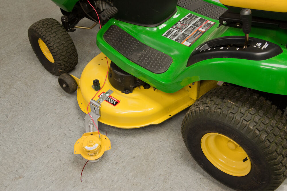 weed eater lawn tractor. lawn \u0026 yard tractor trimmer by eztrim-fits 2 blade mowers-hands free attachment | ebay weed eater lawn tractor