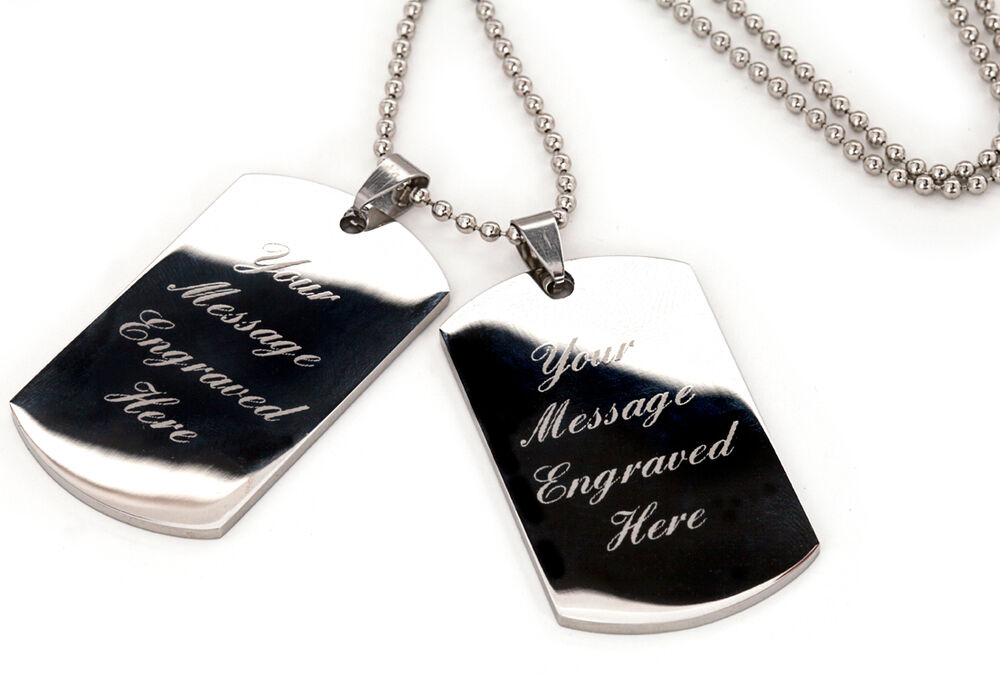 Personalized Dog Tags For Men With Picture