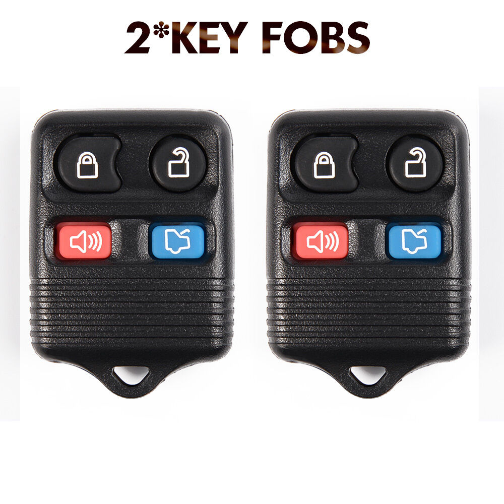 for ford focus escape explorer 2pcs keyless entry remote. Black Bedroom Furniture Sets. Home Design Ideas