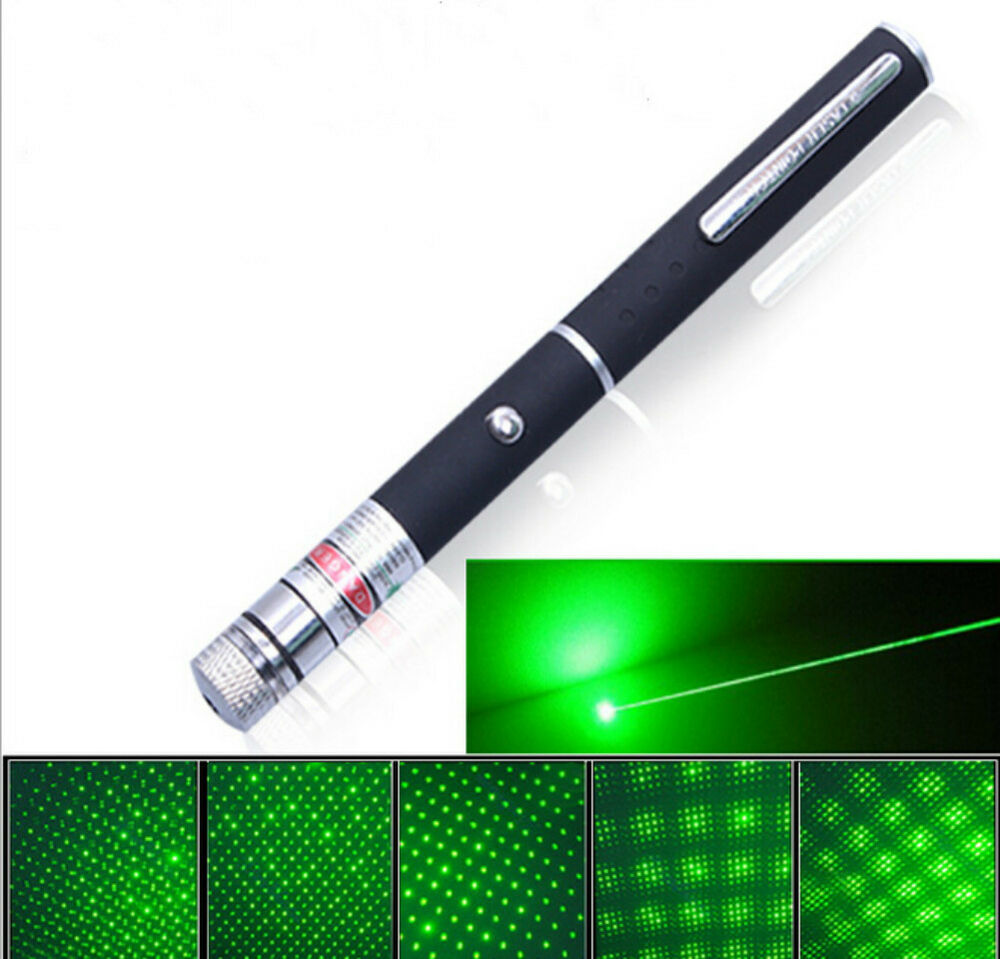 High Power Green Laser Pointer Pen Visible Beam Light 5mw