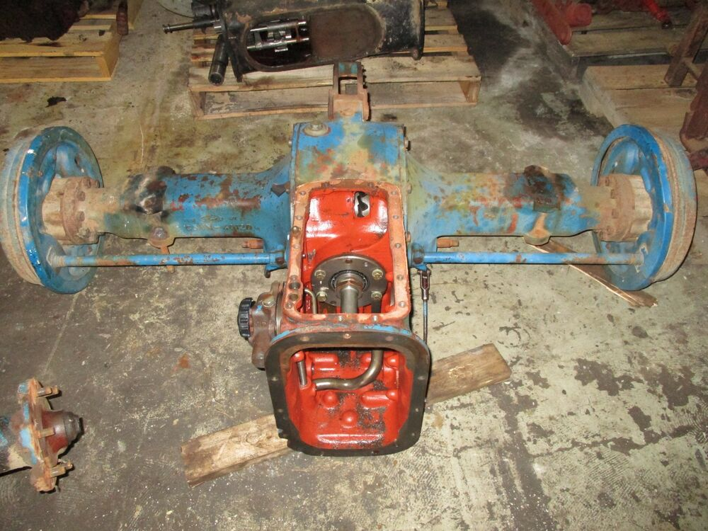 Ford Tractor Rear End : Ford tractor rear end ebay