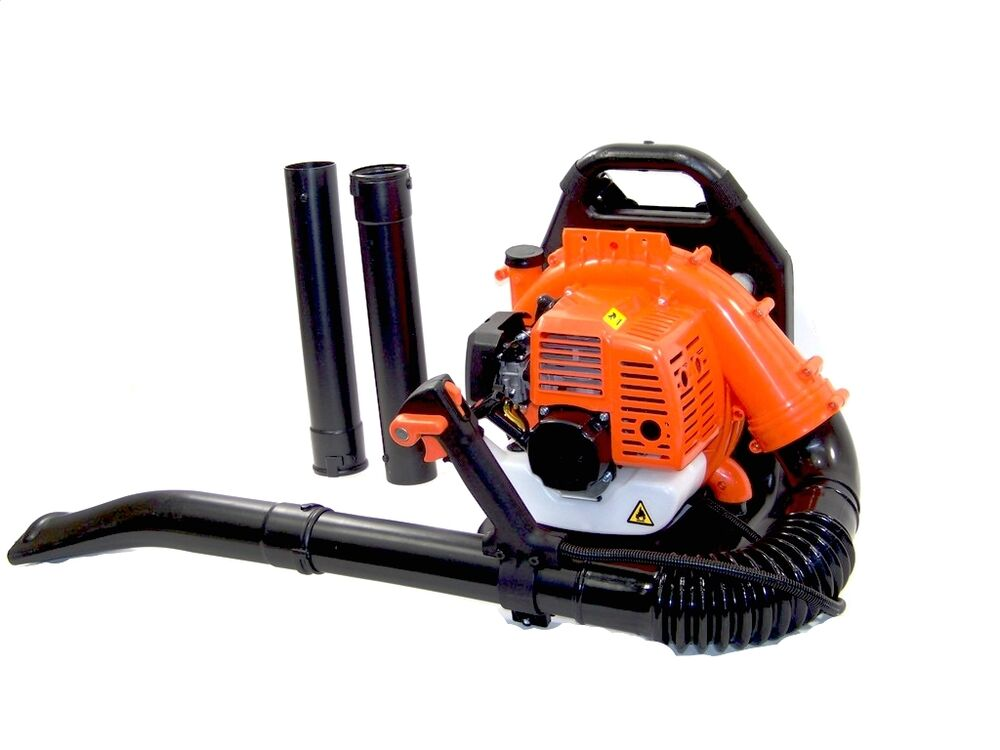 Gas Powered Blowers : New backpack gasoline blower for snow and leaf debris