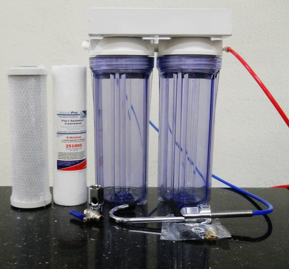 Premier Under Counter Dual Water Filter Drinking Water
