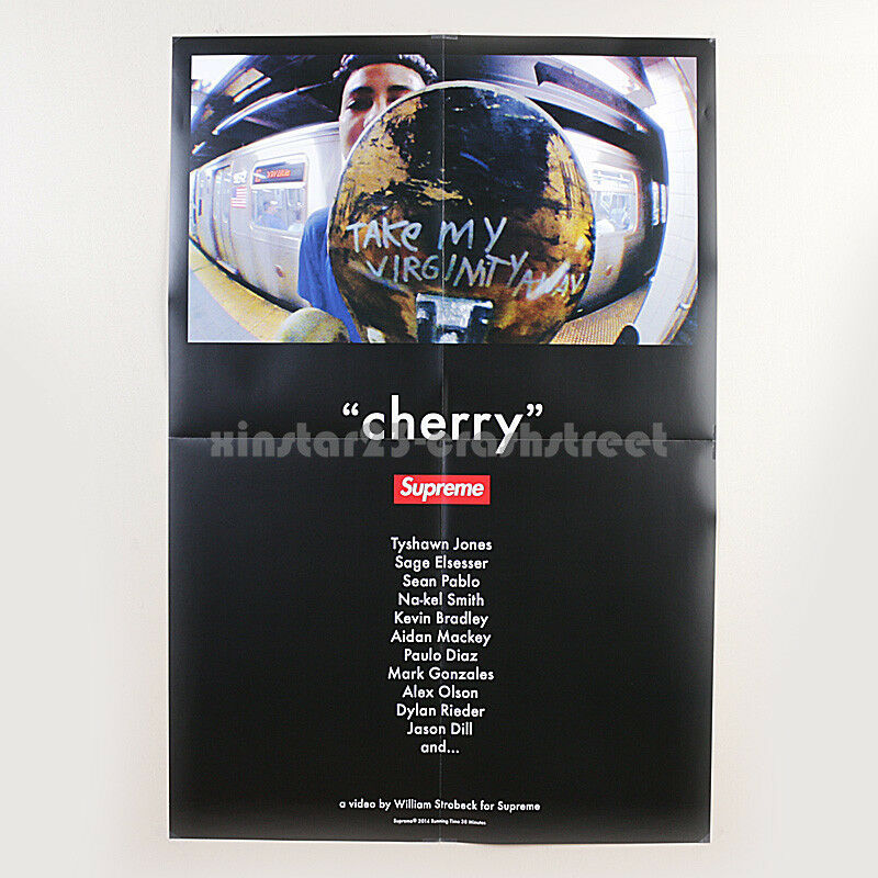 Details About Supreme Ss14 Cherry Dvd S Official Exclusive Box Logo Poster 27 X40
