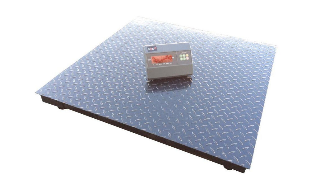 Floor scale heavy duty platform scale 40 x40 high for 1000 lb floor scale