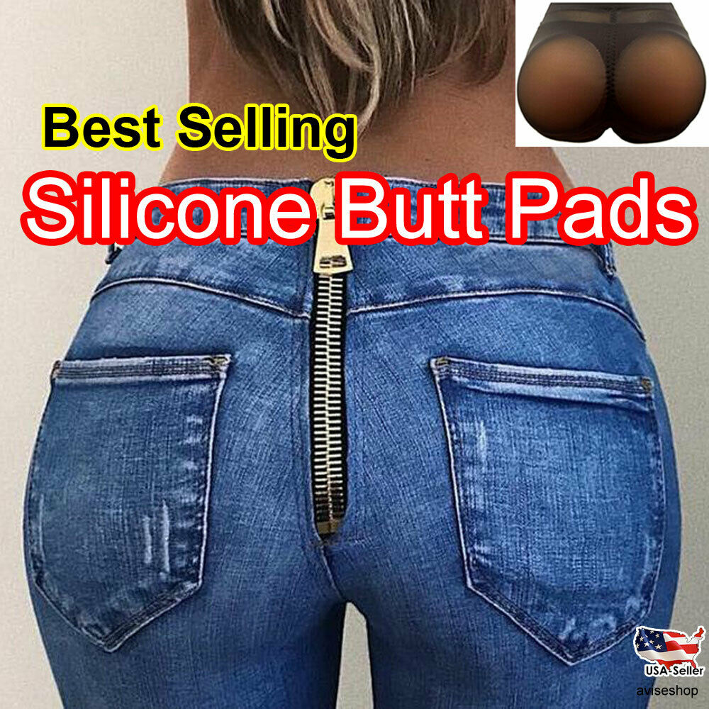 613888f7b0 Silicone butt pad underwear Hip up padded Girdle Panty boost intimate women
