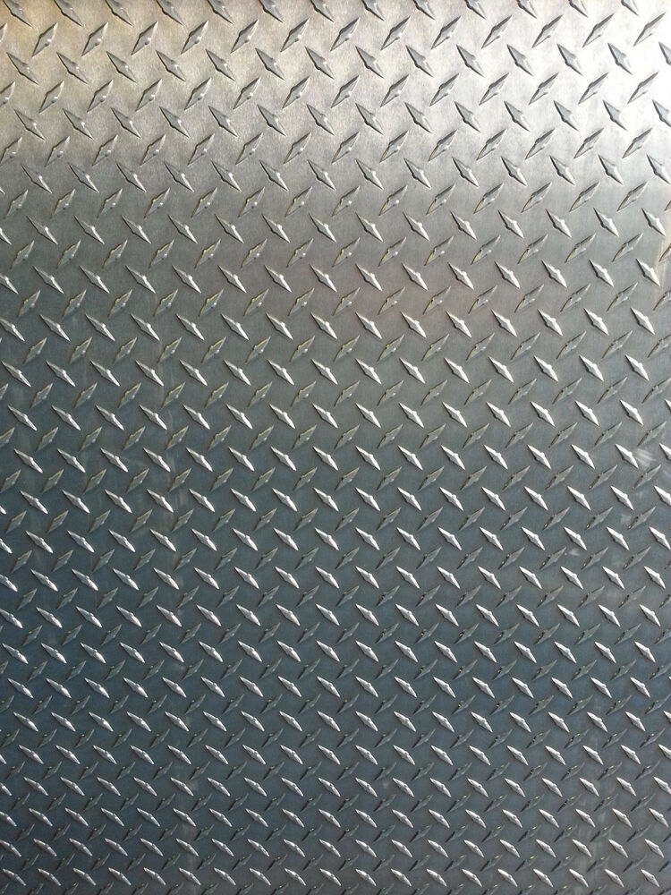"Diamond Plate Sheets >> 1/4"" Aluminum Diamond Tread Plate 6061 T6 - 12"" x 12"" 