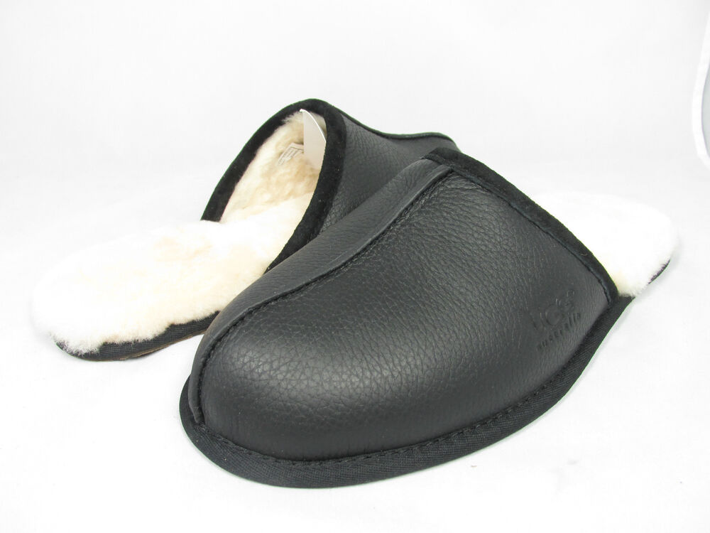 83e9ee33436 Mens Ugg Leather Scuff Slippers - cheap watches mgc-gas.com