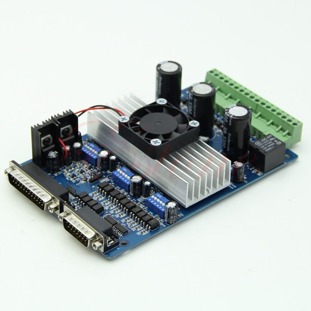 3 axis cnc stepper motor driver controller board 3 5a for Cnc stepper motor controller