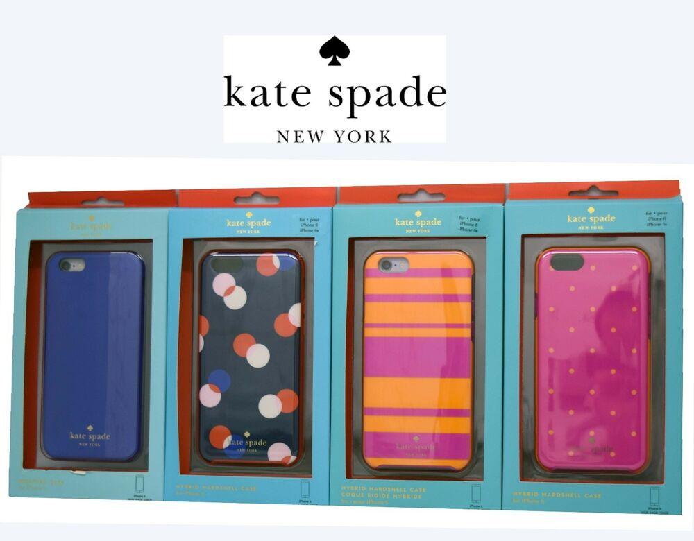 Iphone 6 Phone Cases: New!! Kate Spade Hybrid Hard Shell Wrap Cover Snap Phone