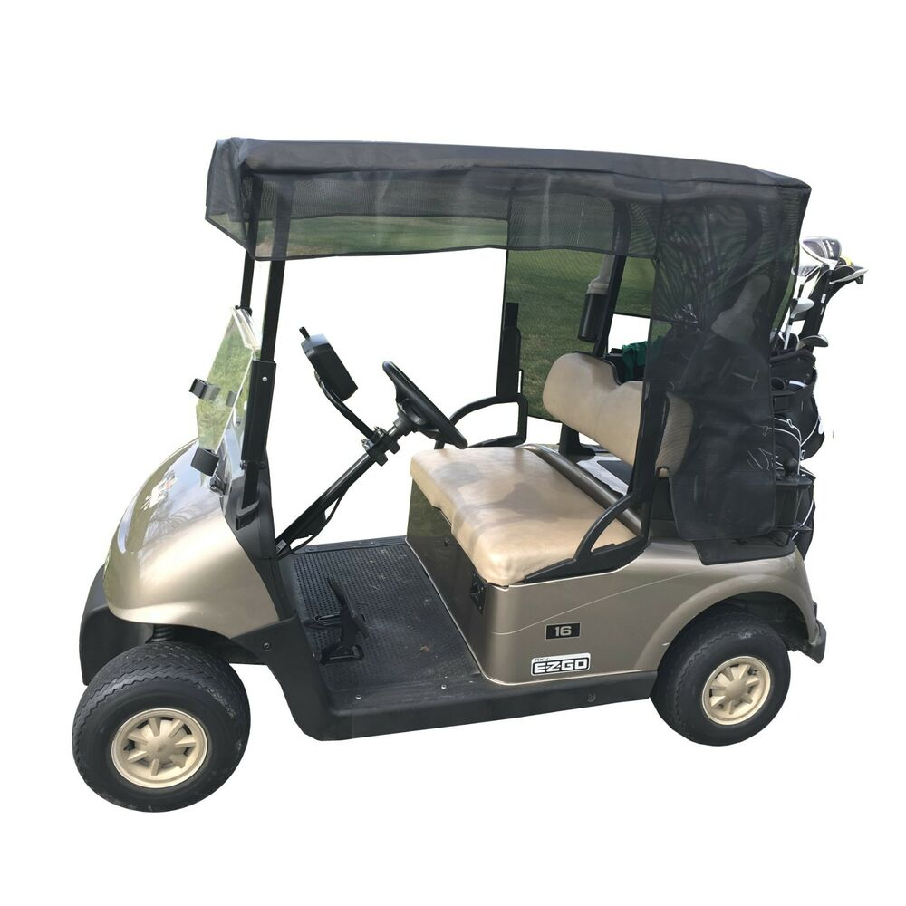 golf cart sun shade for 2 seater or 4 seater roof up to 58. Black Bedroom Furniture Sets. Home Design Ideas
