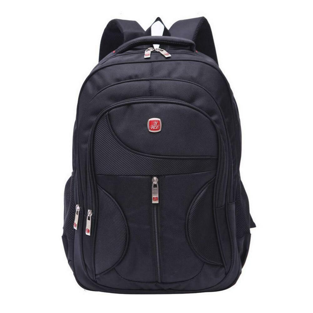 Outdoor men women black laptop backpack sports rucksack for Outdoor rucksack