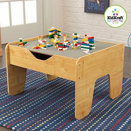 Kidkraft 2 In 1 Activity Table Lego W Board Convenient