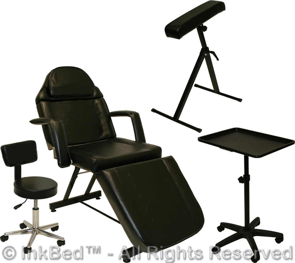 InkBed Tattoo Package Massage Table Chair Arm Bar Ink Bed