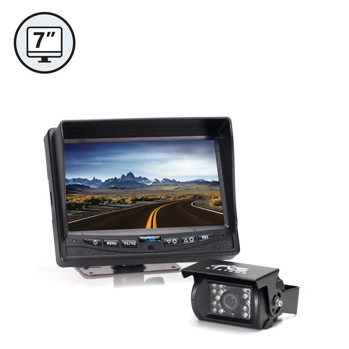 Rear View Backup Camera System 7 Quot Tft Lcd Monitor