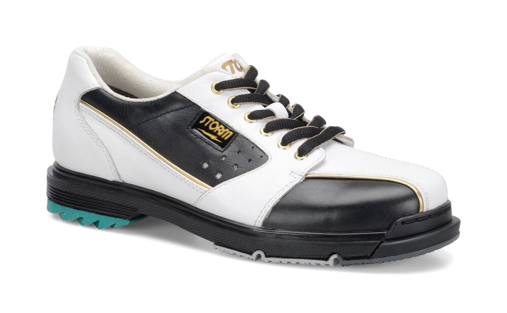 Womens Black And Gold Bowling Shoes
