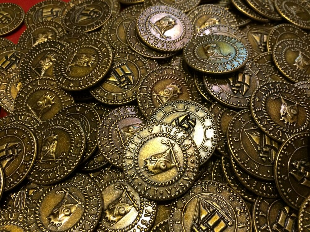 Pirate Treasure Coins Lot Of 50 Great For Kids Party