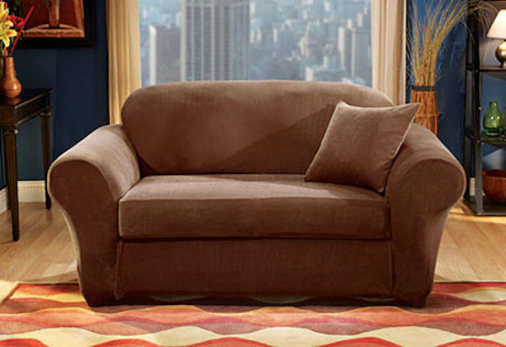Sure Fit Stretch Pique Separate Seat Sofa Slipcover