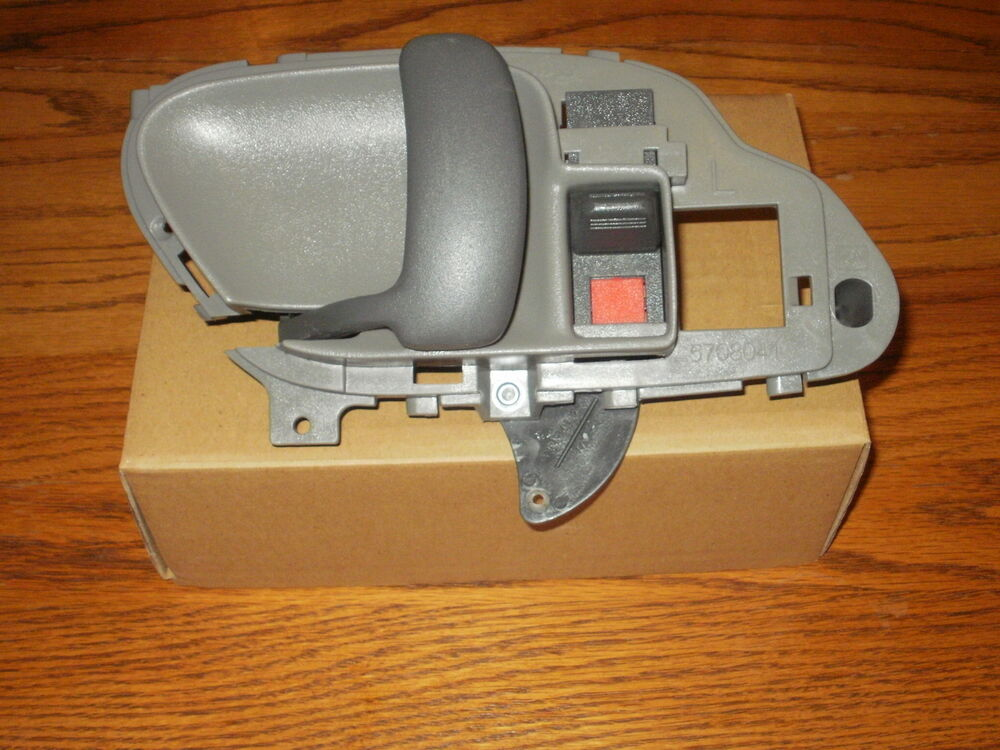 Chevy Silverado Inside Interior Door Handle Gray Driver 1995 1996 1997 1998 1999 Ebay