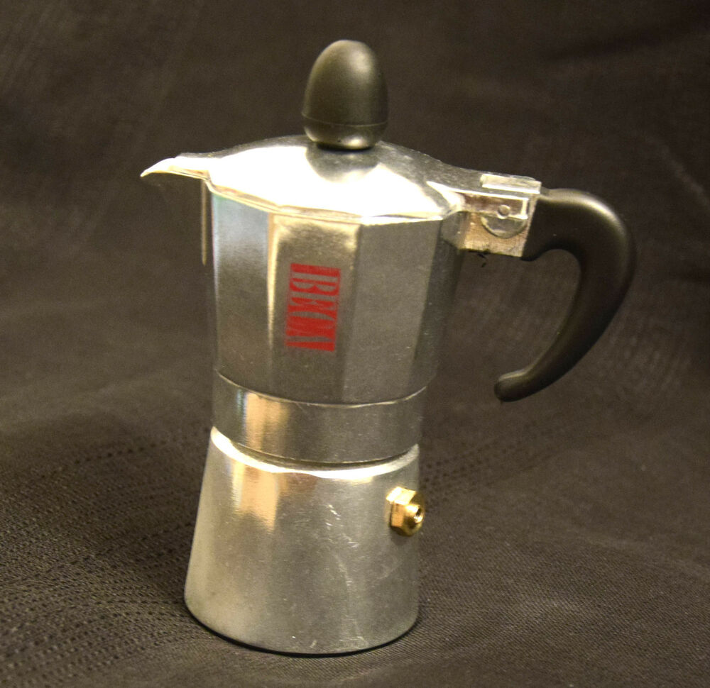 Continental Electric Coffee Maker How To Use : BECA Espresso Stove Top Coffee Maker - Continental Moka Percolator Pot Half cup eBay