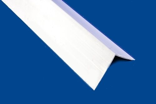 Upvc Plastic Rigid Angle 90 Degree Corner White Trim Ebay