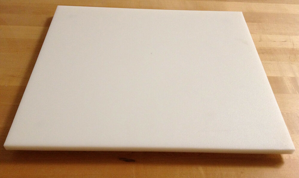 White Plastic Hdpe Cutting Board 1 2 Quot Thick Commercial