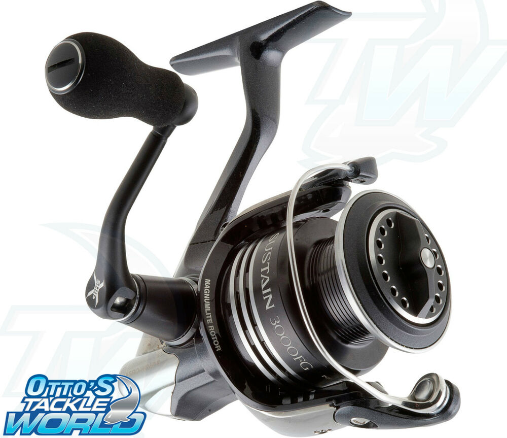 Shimano sustain spinning fishing reel brand new at otto 39 s for Fishing reel brands