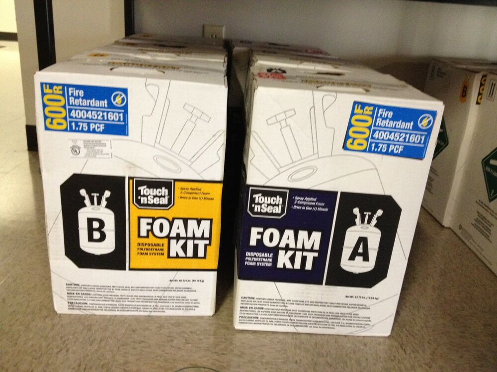 Touch N Seal U2 600 Fire Retardent Closed Foam Spray Foam