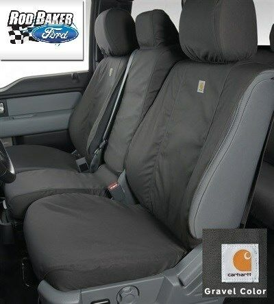 11 16 Carhartt Front Seat Covers By Covercraft Gravel 40