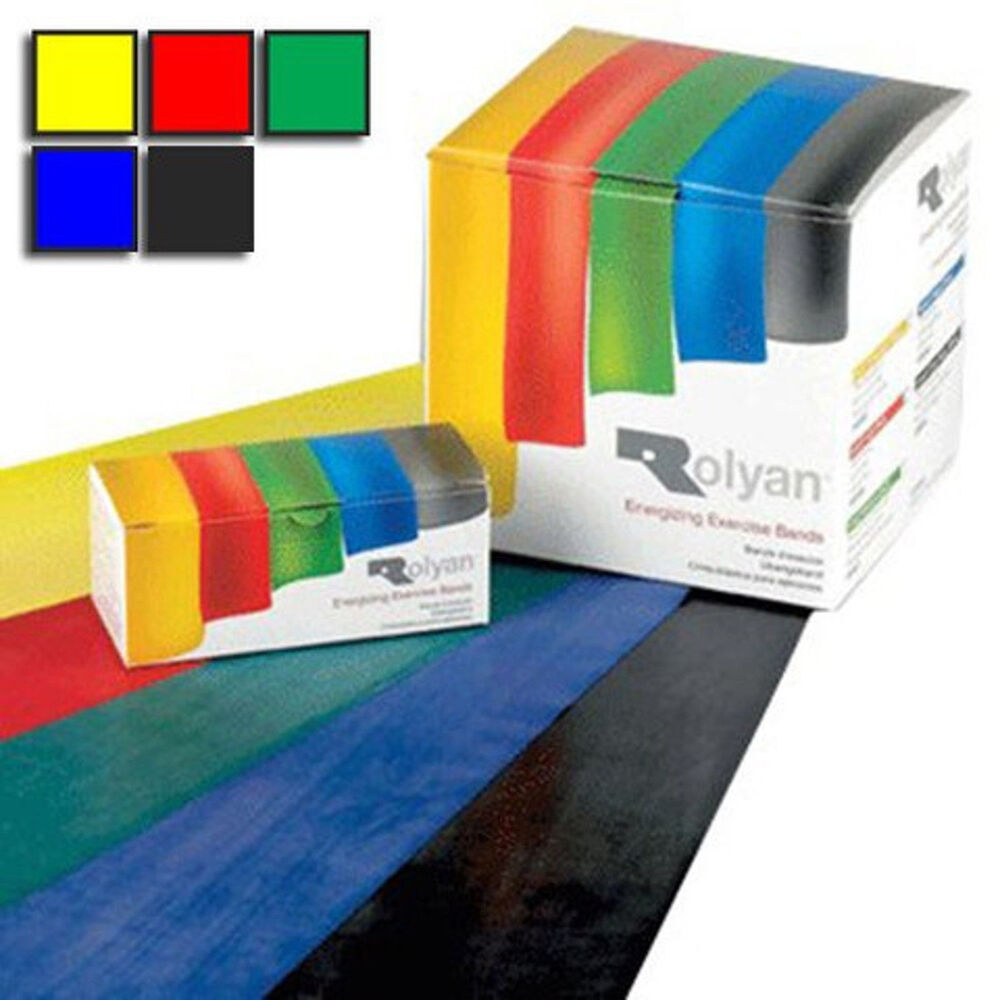 Rolyan Resistance Bands. NHS. Exercise Pilates Yoga