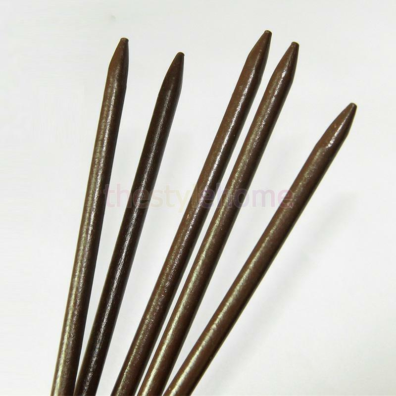 10pcs Women Wooden Japanese Hair Sticks Pin Wood Vintage