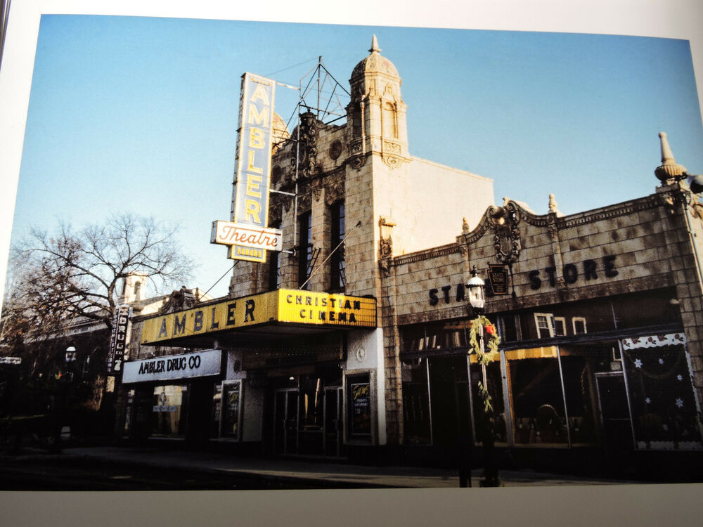 1971 ambler theater pennsylvania pa cinema new york city 8x10 photo reprint ebay. Black Bedroom Furniture Sets. Home Design Ideas