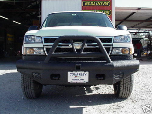 03 Chevy Front Bumpers : New ranch hand bullnose front bumper chevy