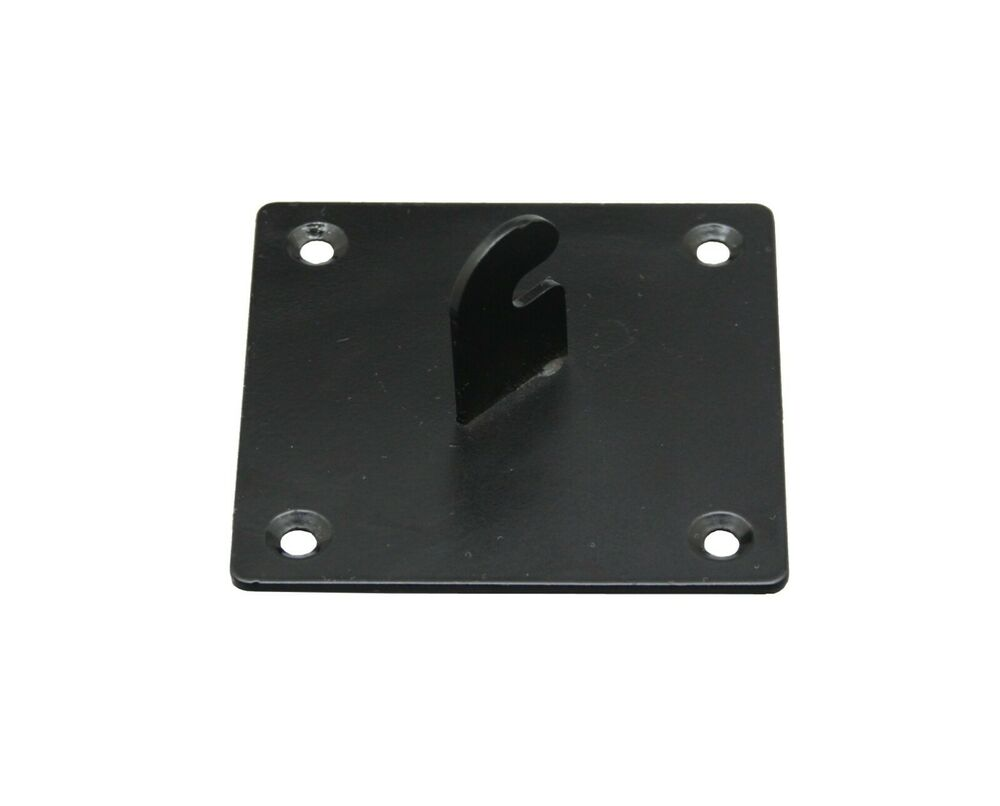 Wall Mounting Hardware : Mounting bracket for wire gridwall panel wall