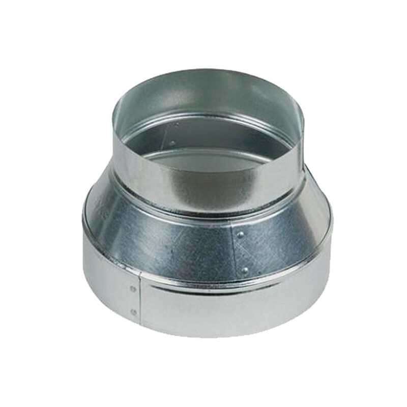 Stainless Steel 6 Inch Inline Fan : Quot duct reducer inch to round adapter f