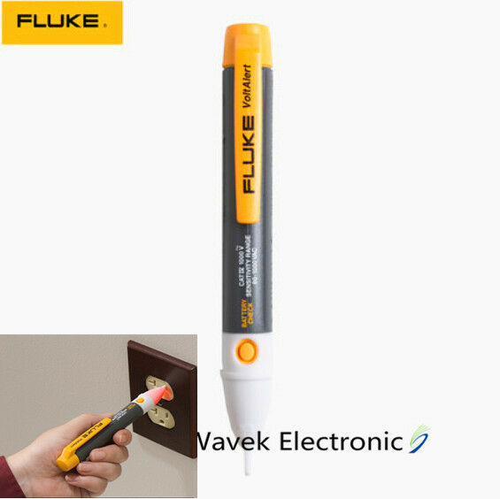 Fluke Voltage Detector : Fluke ac c v non contact voltage detector tester