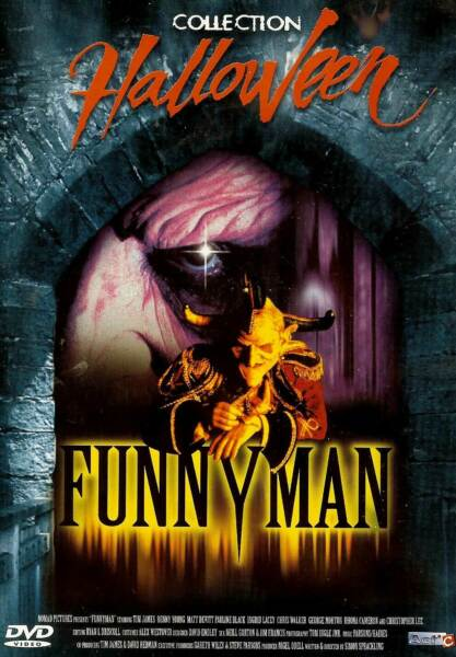 FUNNY MAN - COLLECTION HALLOWEEN DVD HORREUR NEUF/CELLO